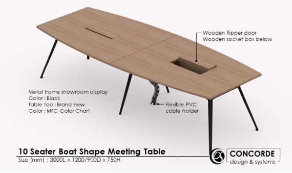 10 Seater Meeting Table